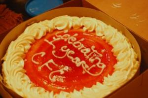 CFC 1st Anniversary Cake